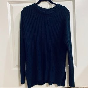Abercrombie & Fitch Navy Blue Sweater